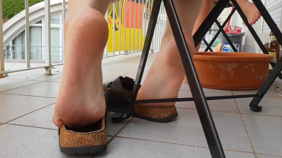 Sandalen Fetisch